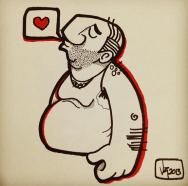 Hombre enamorado / Regular man in love