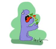 monstruo veg